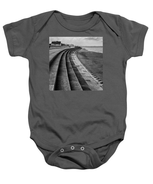 North Beach, Heacham, Norfolk, England Baby Onesie