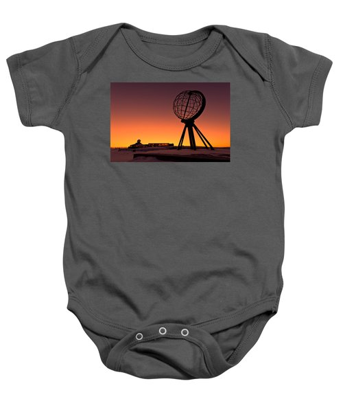 North Cape Norway At The Northernmost Point Of Europe Baby Onesie