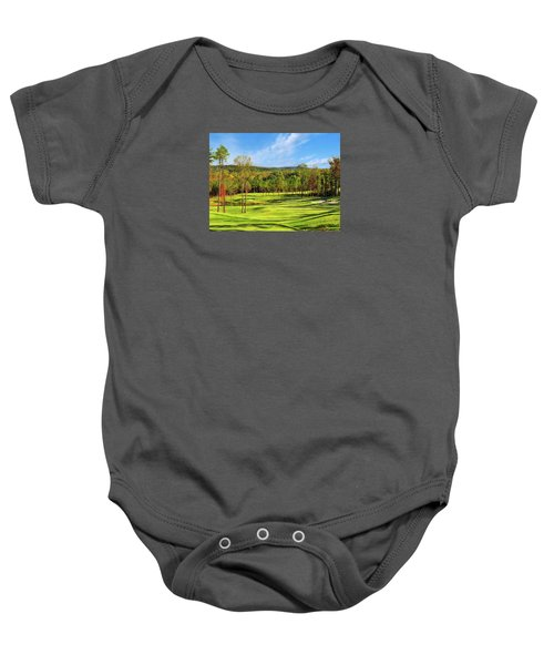North Carolina Golf Course 14th Hole Baby Onesie