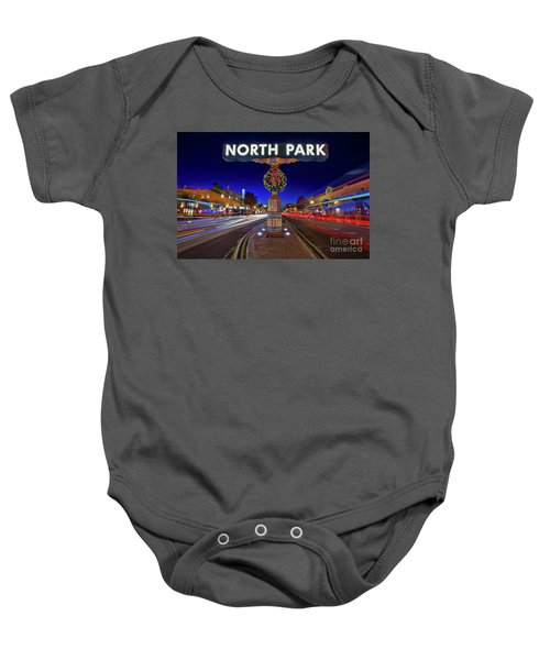 Baby Onesie featuring the photograph North Park Christmas Rush Hour by Sam Antonio Photography