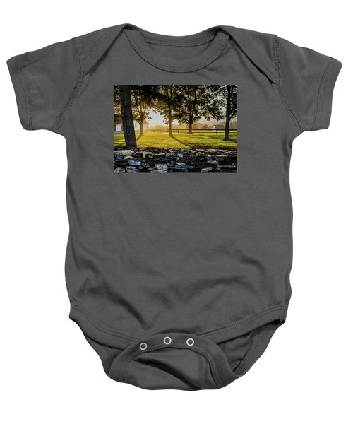 North Road Fog Baby Onesie