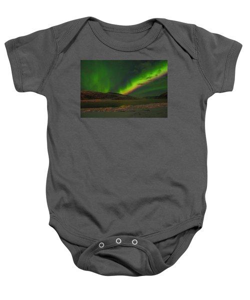 Northern Northern Lights 3 Baby Onesie