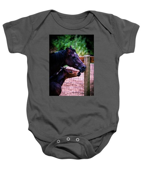 Nose To Nose Baby Onesie