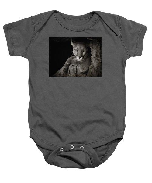 Not A Happy Cat Baby Onesie