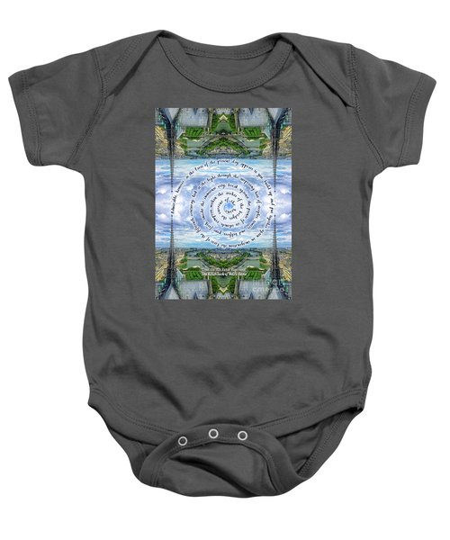 Notre-dame Cathedral Spire Paris Victor Hugo Novel Baby Onesie