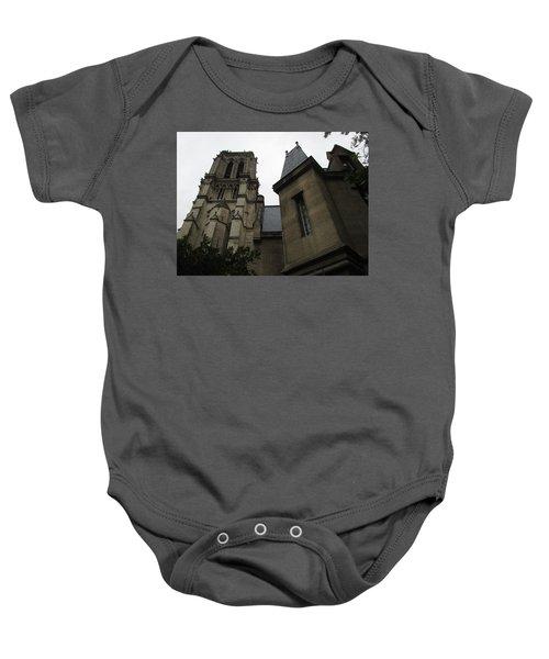 Notre Dame Paris Southwest Baby Onesie