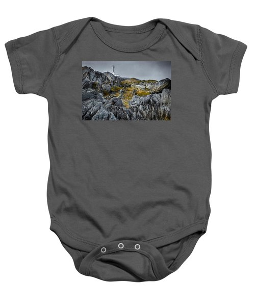 Nova Scotia's Rocky Shore Baby Onesie