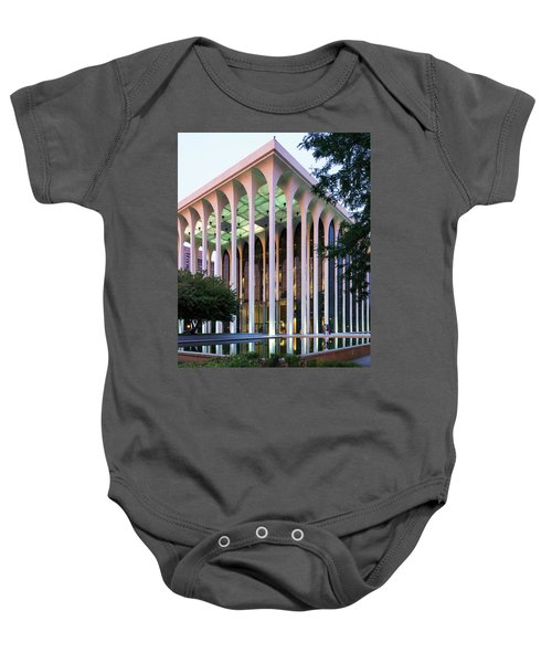 Nwnl Building At Dusk Baby Onesie