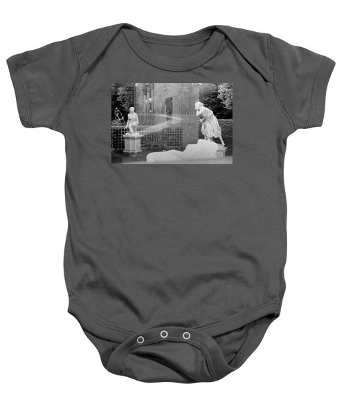 Nyc Whispering Statues Baby Onesie