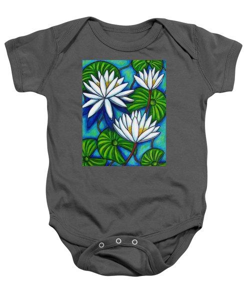 Nymphaea Blue Baby Onesie