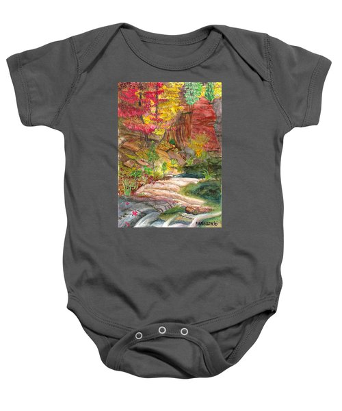 Oak Creek West Fork Baby Onesie