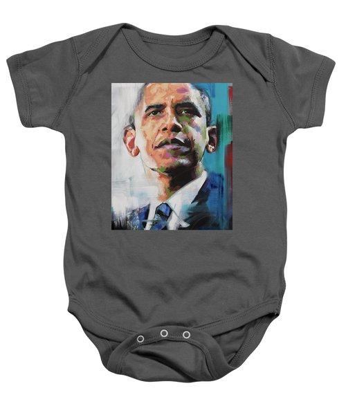Obama Baby Onesie by Richard Day