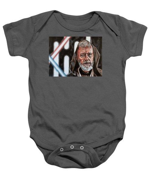 Obi-wan Kenobi's Last Stand Baby Onesie