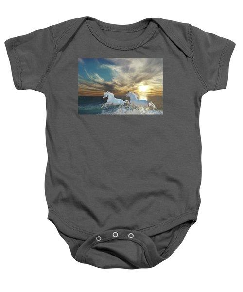 Ocean Play Baby Onesie