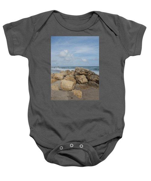 Ocean Scene Baby Onesie