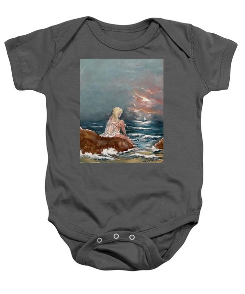 Oceanic Relaxation Baby Onesie