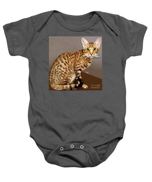 Ocicat Baby Onesie