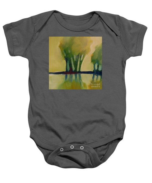 Odd Little Trees Baby Onesie