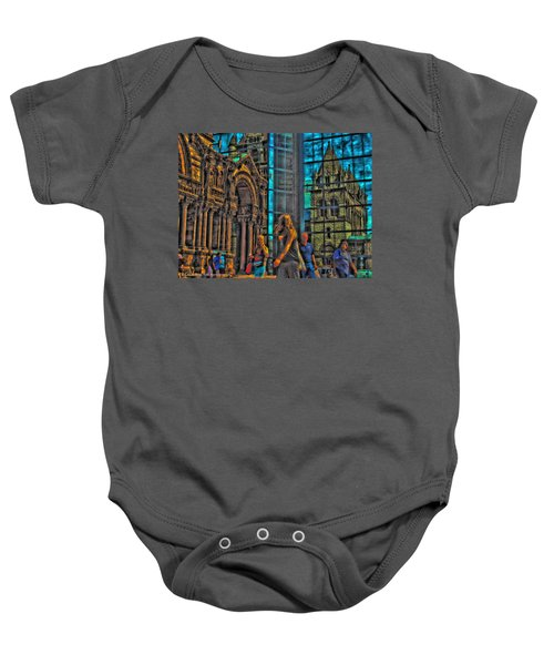 Of Light And Mirrors Baby Onesie