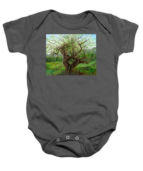 Old Apple Tree Baby Onesie
