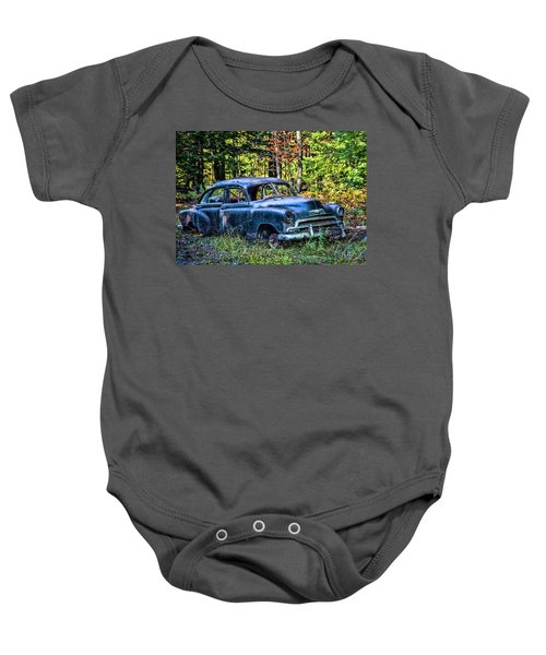 Old Car Baby Onesie