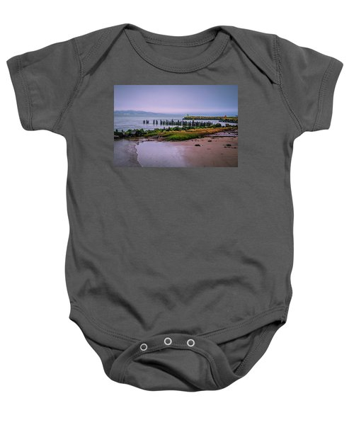 Old Columbia River Docks Baby Onesie