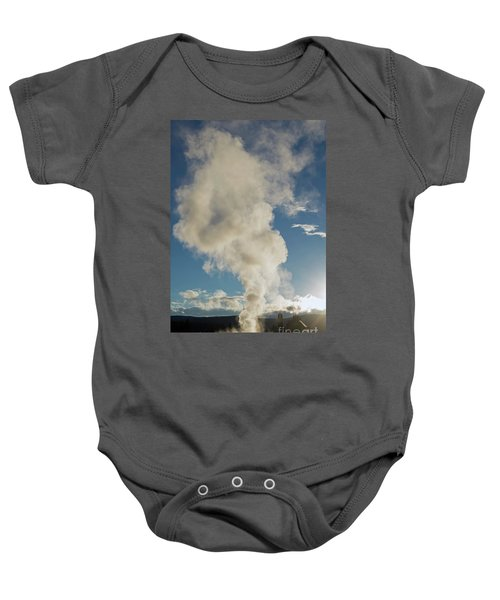 Old Faithfull Baby Onesie