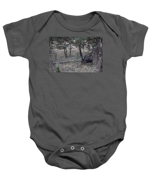 Old Farm Implement Lake George Co Baby Onesie