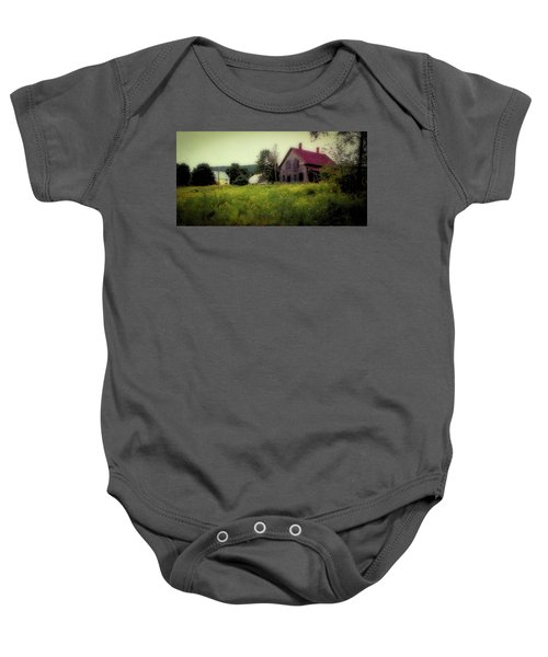 Old Farmhouse - Woodstock, Vermont Baby Onesie