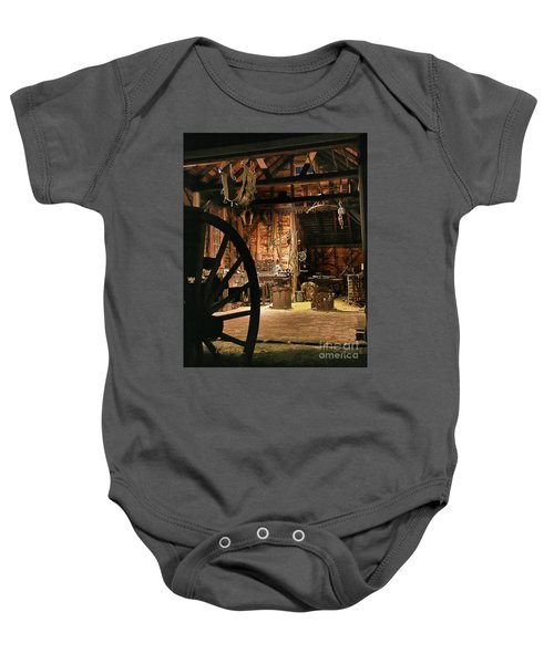 Old Forge Baby Onesie