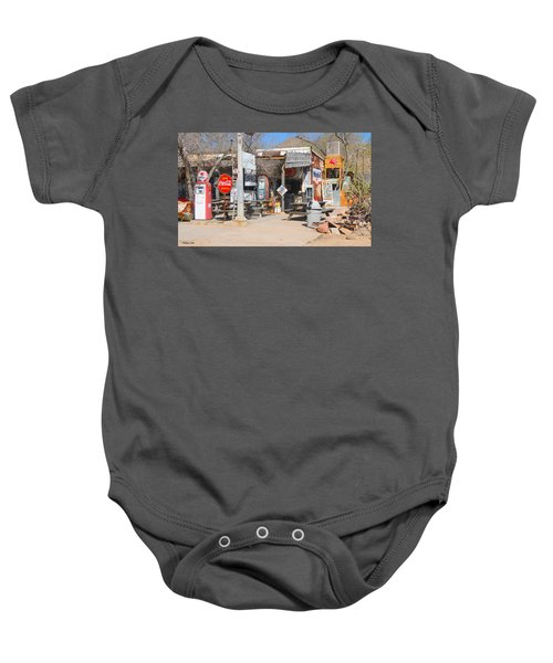 Old Gas Station, Historic Route 66 Baby Onesie