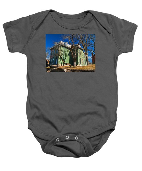 Old House Baby Onesie