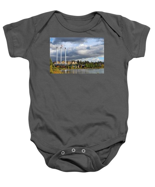 Old Mill District Baby Onesie