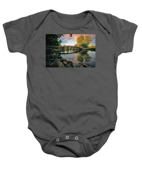 Old North Bridge Baby Onesie
