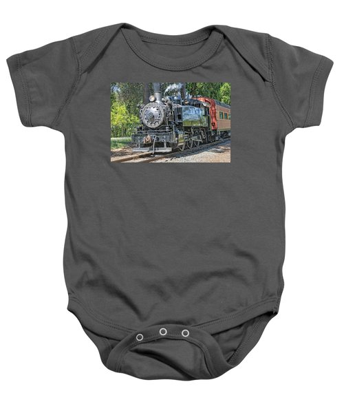 Baby Onesie featuring the photograph Old Number 10 by Jim Thompson