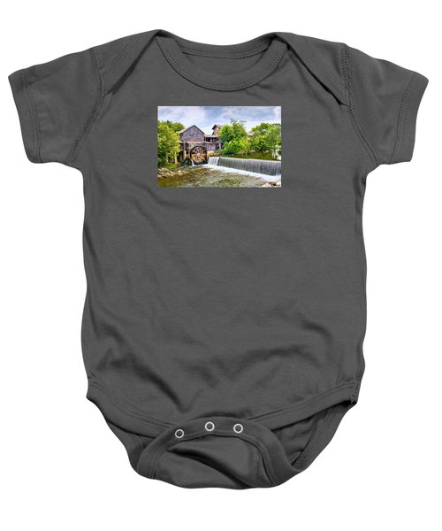 Old Pigeon Forge Mill Baby Onesie