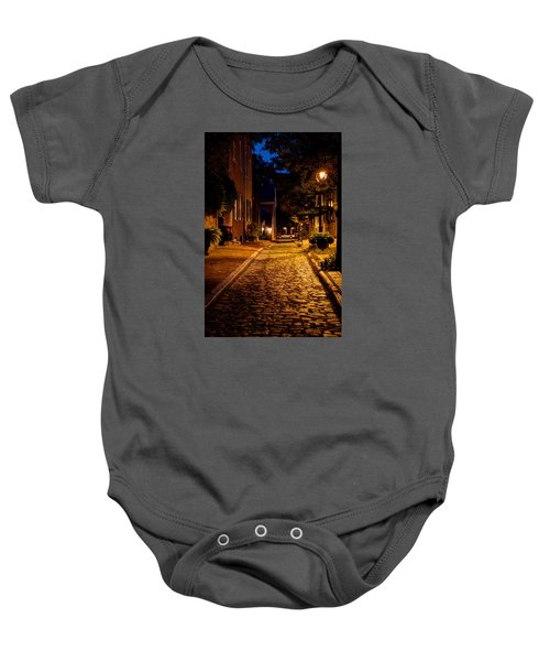 Olde Town Philly Alley Baby Onesie