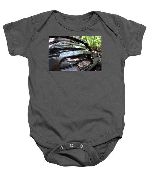 Oldsmobile Bumper Detail Baby Onesie