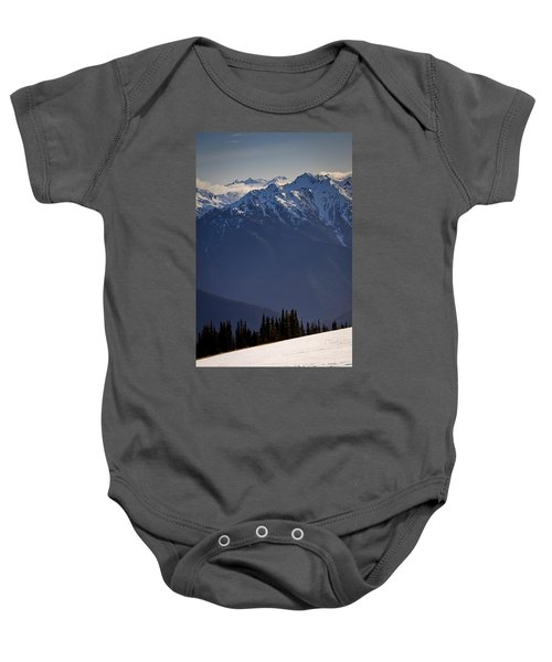 Olympic National Park Baby Onesie