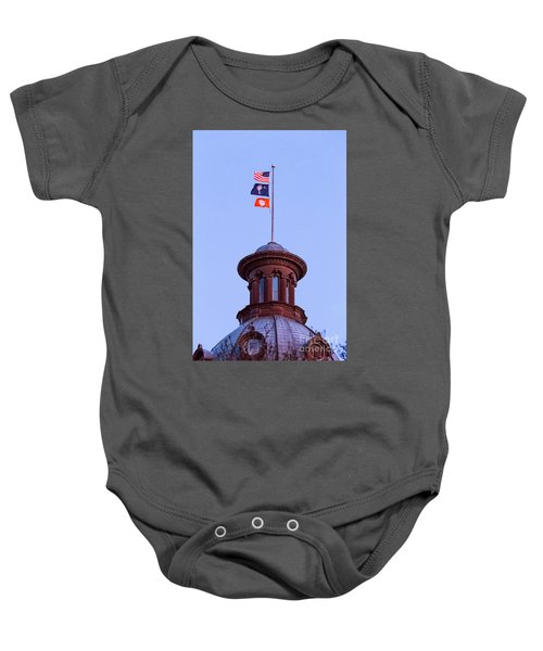 On The Dome-5 Baby Onesie