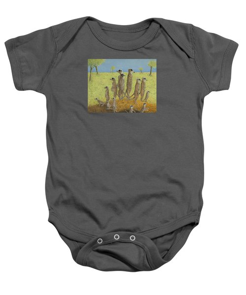 On The Lookout Baby Onesie