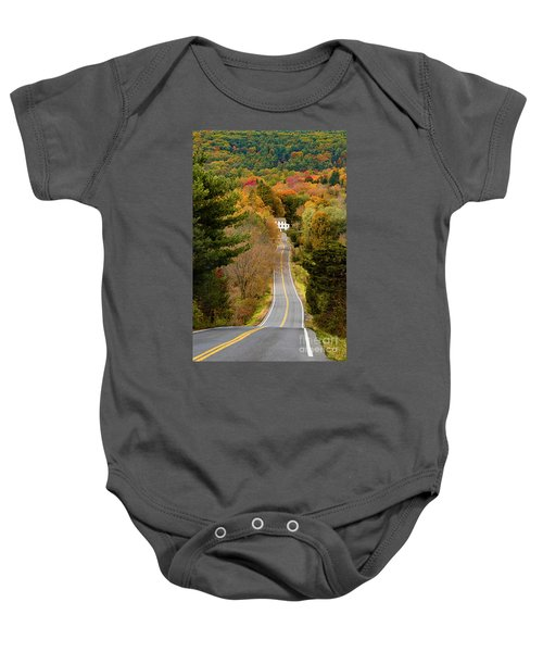 On The Road To New Paltz Baby Onesie