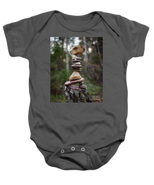 On The Stump Baby Onesie