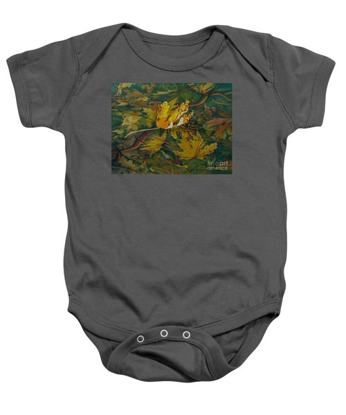 On The Surface Baby Onesie