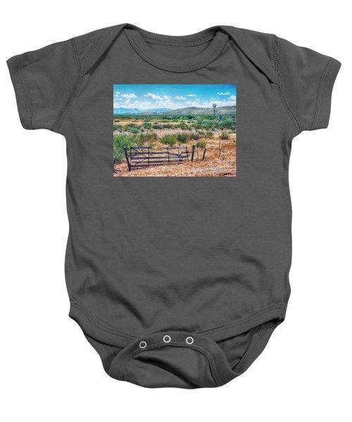 On The Texas Plans Baby Onesie