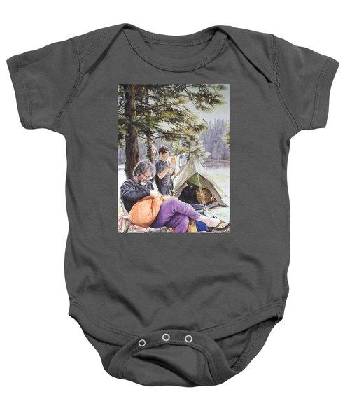 On Tulequoia Shore Baby Onesie