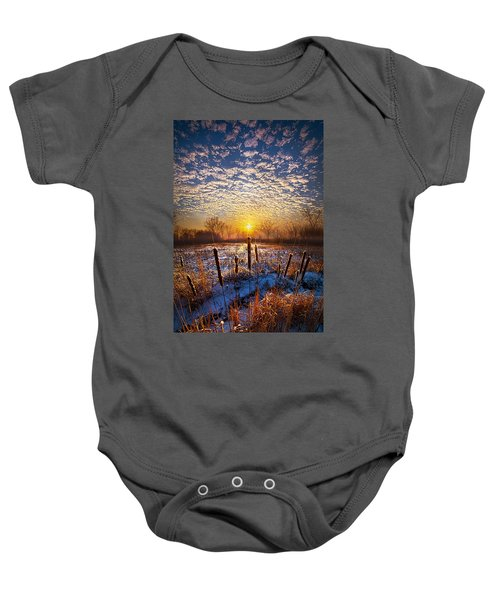 One Day At A Time Baby Onesie