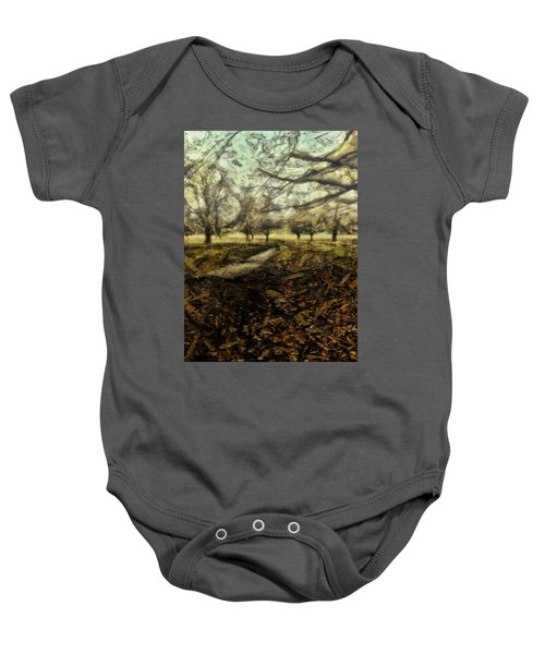 One For My Baby And One More For The Road Baby Onesie