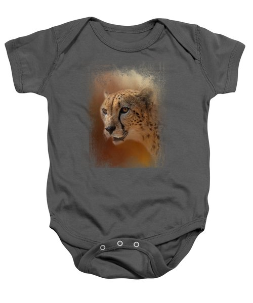 One With The Sun Baby Onesie by Jai Johnson