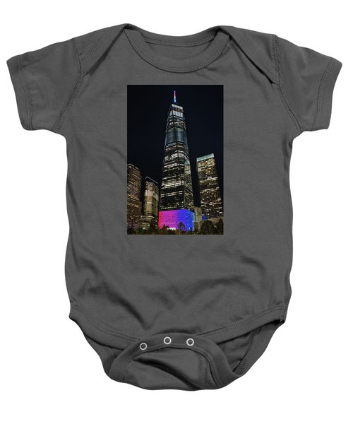 One World Trade Center Baby Onesie